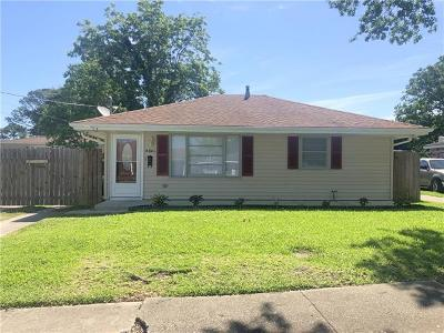 New Orleans Single Family Home For Sale: 4801 Montegut Drive