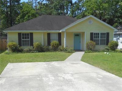 Slidell Single Family Home For Sale: 2313 Bluebird Street