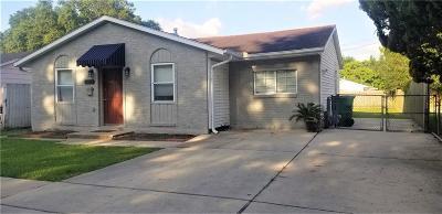 Kenner Single Family Home For Sale: 4004 Arkansas Avenue