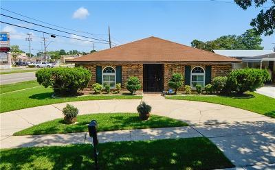 River Ridge, Harahan Single Family Home For Sale: 185 Garden Road
