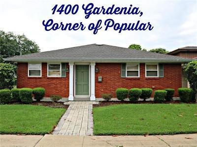 Metairie Single Family Home For Sale: 1400 Gardenia Drive
