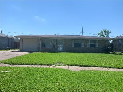 Kenner Single Family Home For Sale: 2409 Kansas Avenue