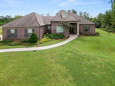 Madisonville LA Single Family Home For Sale: $575,000