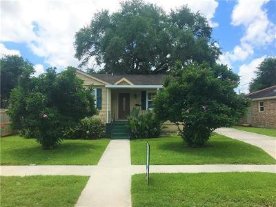 New Orleans Single Family Home For Sale: 1512 Seville Street