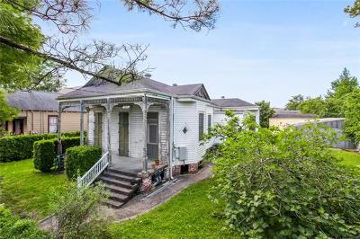 New Orleans Single Family Home For Sale: 3921 Chestnut Street