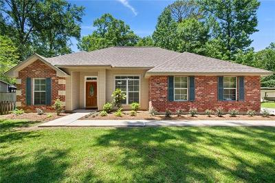 Madisonville LA Single Family Home For Sale: $200,000