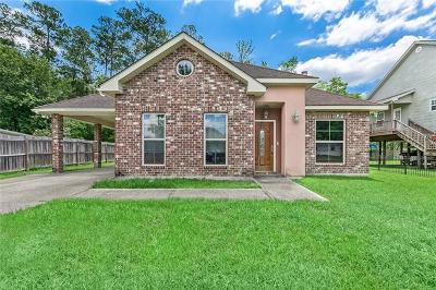 Slidell Single Family Home For Sale: 134 Charleston Drive