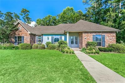 Madisonville LA Single Family Home For Sale: $365,000