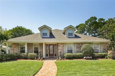 Kenner Single Family Home For Sale: 91 McKinley Street
