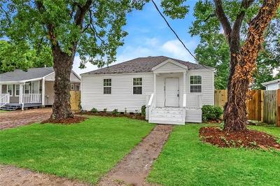 Kenner Single Family Home For Sale: 1909 Illinois Avenue