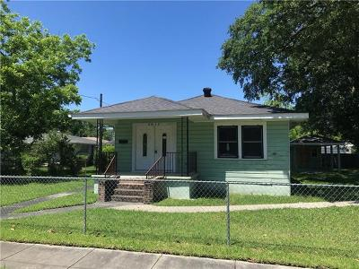 Slidell Single Family Home For Sale: 2417 6th Street
