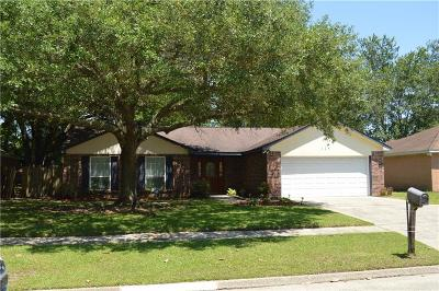 Slidell Single Family Home For Sale: 124 Nottingham Drive