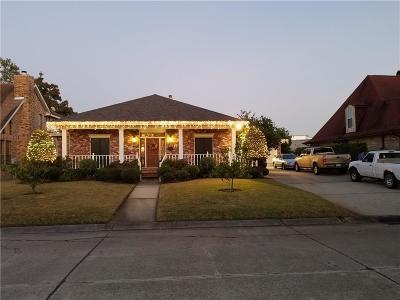 Gretna Single Family Home For Sale: 725 Marlene Drive