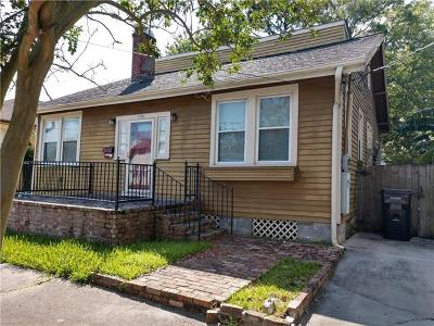New Orleans Single Family Home For Sale: 1719 S Rendon Street