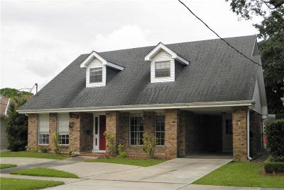 Single Family Home For Sale: 3009 Metairie Court