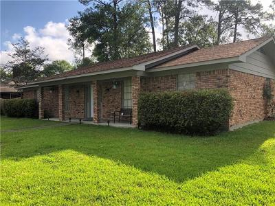 Slidell Single Family Home For Sale: 1553 Lakewood Drive
