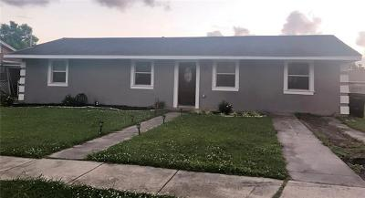 New Orleans Single Family Home For Sale: 4936 Papania Drive