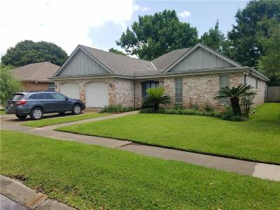 Kenner Single Family Home For Sale: 59 Granada Drive