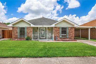 Marrero Single Family Home For Sale: 2836 Doreen Lane