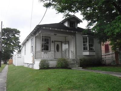 New Orleans Single Family Home For Sale: 2482 Jasmine Street