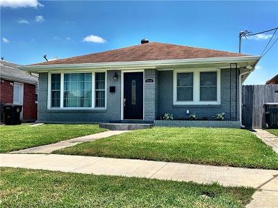 New Orleans Single Family Home For Sale: 2245 Dreux Avenue