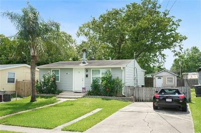 Kenner Single Family Home For Sale: 3311 Colorado Avenue