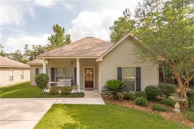 Single Family Home For Sale: 823 Chevreuil Street