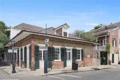 French Quarter Single Family Home For Sale: 841 Barracks Street