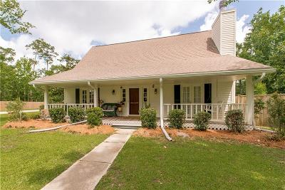 Slidell Single Family Home For Sale: 2046 Old River Road