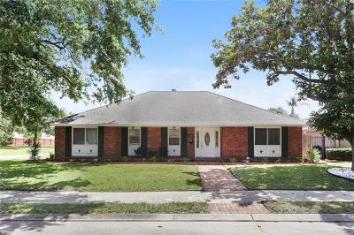 New Orleans Single Family Home For Sale: 2480 Oriole Street