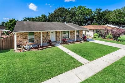 Metairie Single Family Home For Sale: 6304 Ithaca Street