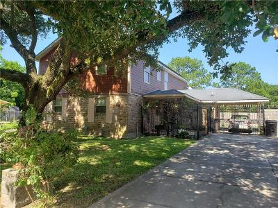 New Orleans Single Family Home For Sale: 4835 Gawain Drive