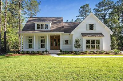 Madisonville LA Single Family Home For Sale: $559,000