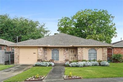 Metairie Single Family Home For Sale: 3713 Harvard Avenue