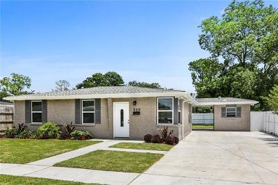 Metairie Single Family Home For Sale: 717 Jade Avenue