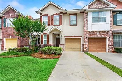 Madisonville Townhouse For Sale: 127 White Heron Drive
