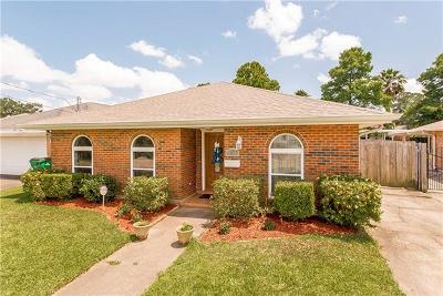 Metairie Single Family Home For Sale: 5220 Rye Street