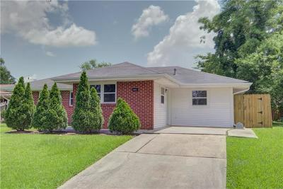 New Orleans Single Family Home For Sale: 4951 Warren Drive