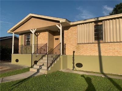 New Orleans Single Family Home For Sale: 3730 Mansfield Avenue