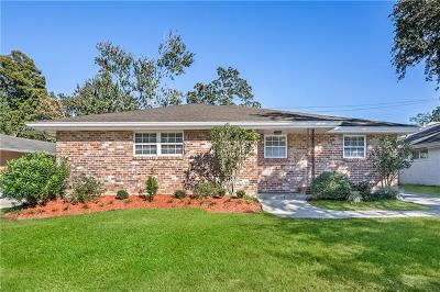 Metairie Single Family Home For Sale: 3709 Henican Place