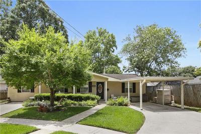 River Ridge, Harahan Single Family Home For Sale: 7030 Gasper Pl Place