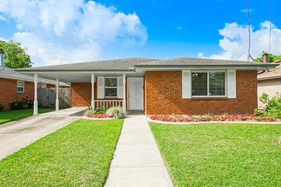 Metairie Single Family Home For Sale: 4524 Meadowdale Street