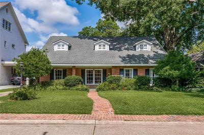 Metairie Single Family Home For Sale: 206 W Oakridge Park