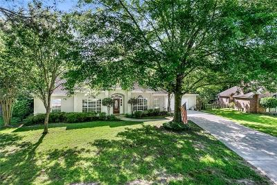 Mandeville Single Family Home For Sale: 307 Rosedown Way