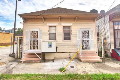 New Orleans Single Family Home For Sale: 2516 Marais Street