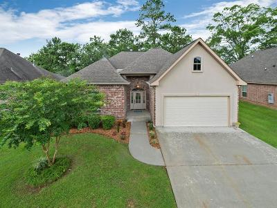 Madisonville Single Family Home For Sale: 124 Coquille Drive
