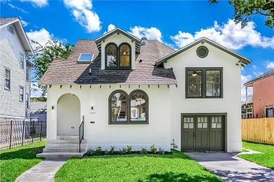 Single Family Home For Sale: 3331 Louisiana Ave Parkway