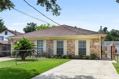 Metairie Townhouse For Sale: 228 Transcontinental Drive