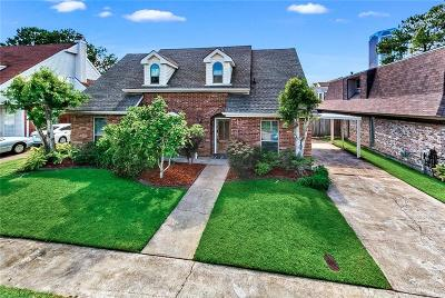 Metairie Single Family Home For Sale: 3724 Tolmas Drive