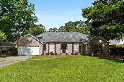 Single Family Home For Sale: 552 Casey Drive